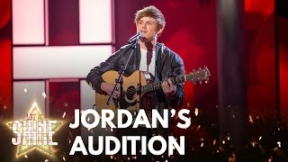Jordan Harvey performs