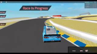 ROBLOX Nascar '16 Lets Play Ep.13 Danica Wins at Sonoma?