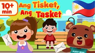 A Tisket A Tasket in Filipino | Kids Nursery Rhymes & Awiting Pambata Compilation