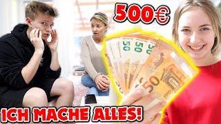 Wer ZULETZT NEIN sagt, kriegt 500€ 😱💵