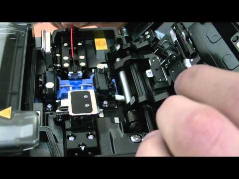 welding of optical fibre сварка оптического волокна