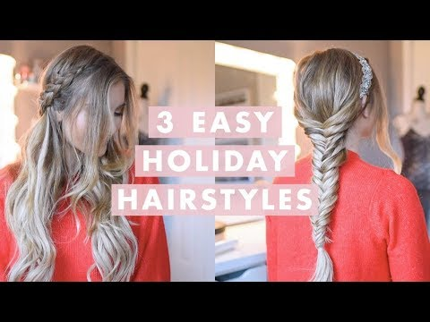 3 Holiday Party Hairstyles