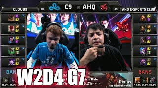 Cloud 9 vs ahq Tie Breaker | Week 2 Day 4 Group B LoL S5 World Championship 2015 | C9 vs AHQ Decider