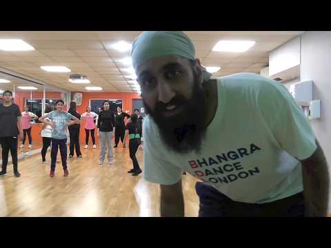 Bhangra Dance London  Jatt 24 Carat Da  Harjit Harman  Vale Farm Sports Centre