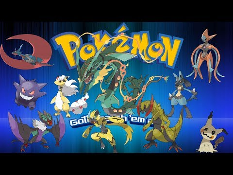 All 807 Pokemon (Gen 1-7) Updated for Ultra Sun/ Ultra Moon
