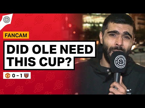 Did Ole Need This Carabao Cup?!   Adam McKola Review   United 0-1 West Ham