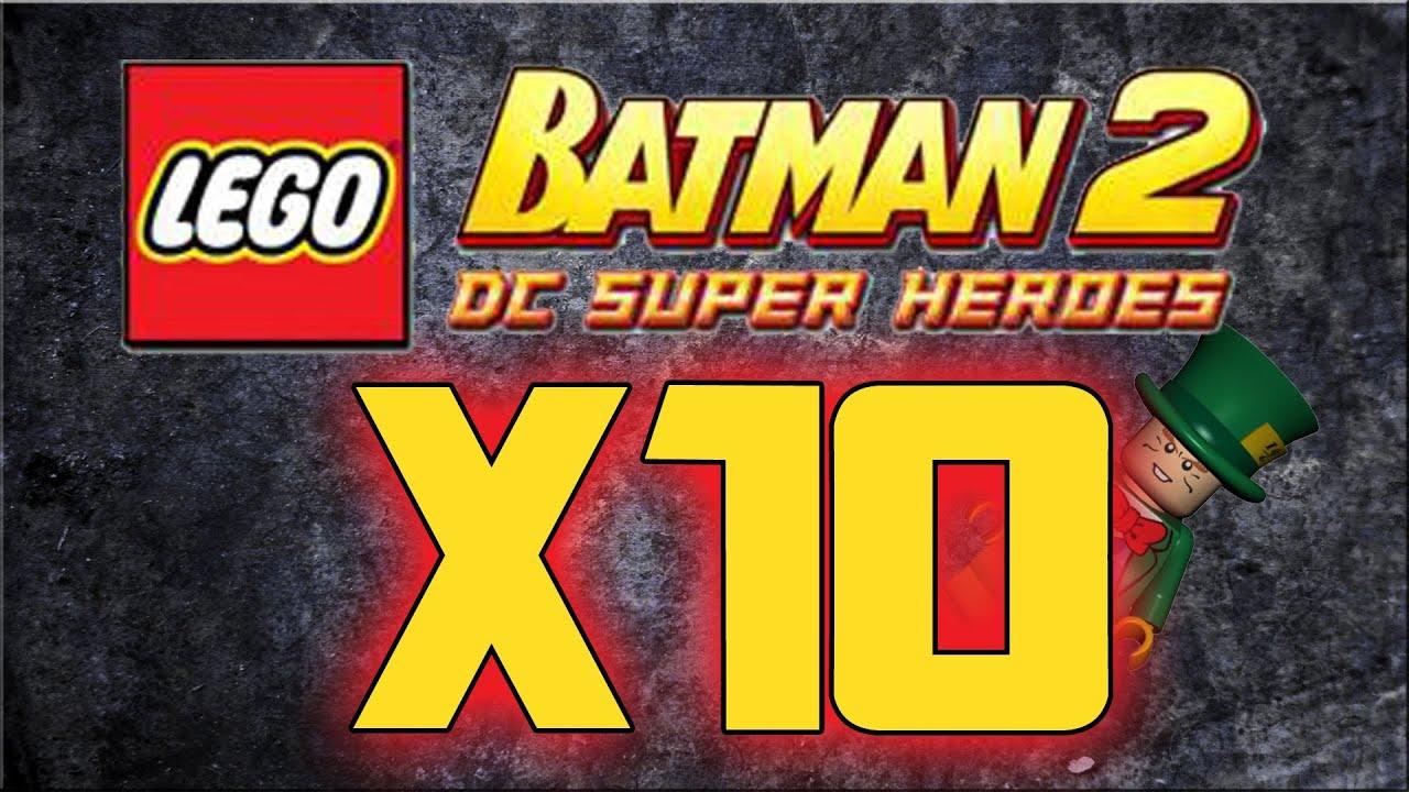 Lego Batman 2 Dc Superheroes How To Unlock X10 Multiplier Location X10 Studs Youtube