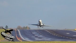 Windy Sunday at Lublin Airport