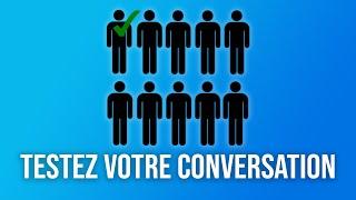 Avez-vous de la conversation ? Faites le test