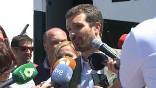 """Casado señala los """"bandazos"""" de Sánchez con el Open Arms"""