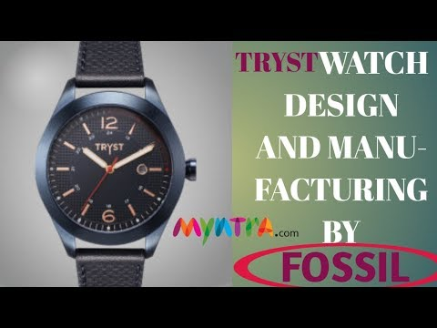 TRYST watches manufacturing and serviced by FOSSIL // TRYST watch unboxing // FOSSIL Watch// Rajtech