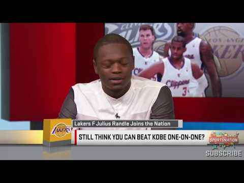 Julius Randle Shares His 1-On-1 Experience Vs. Kobe Bryant