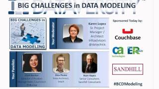 Big Challenges in Data Modeling - Modeling Unstructured Data, Schema-less Design | DATAVERSITY