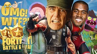 CRAZY Voice Impressions Make Players SQUEAK on Fortnite Battle Royale!