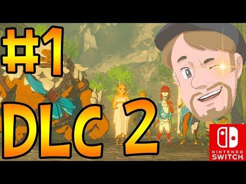 (🔴 LIVE) Tidig release! Zelda Breath of the wild (DLC 2) på svenska Med Danne