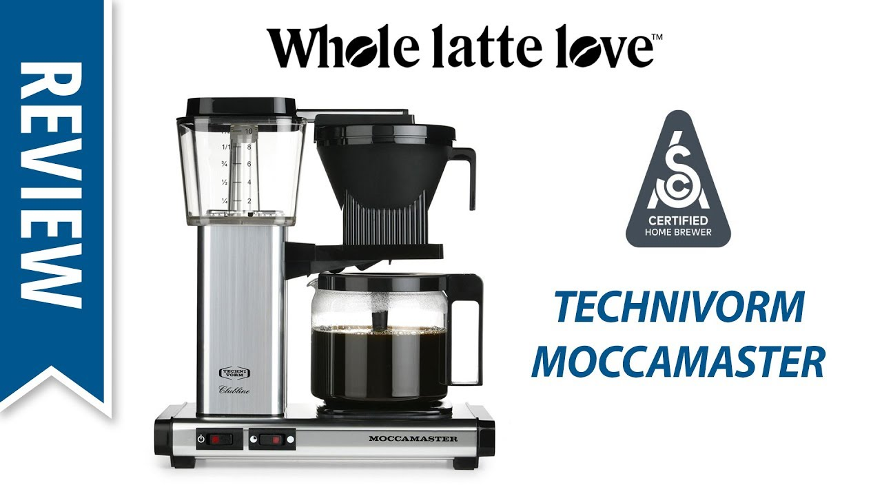 Review Technivorm Moccamaster At Specialty Coffee Expo 2018 Youtube