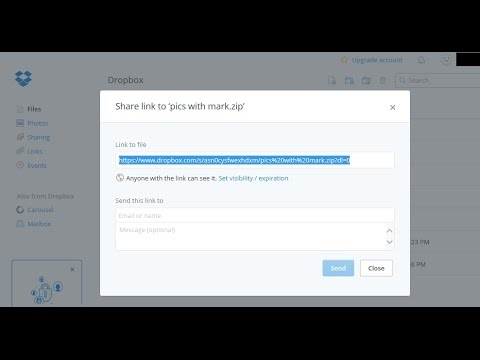 How-To Tutorial on Sharing Files and Folders in DropBox