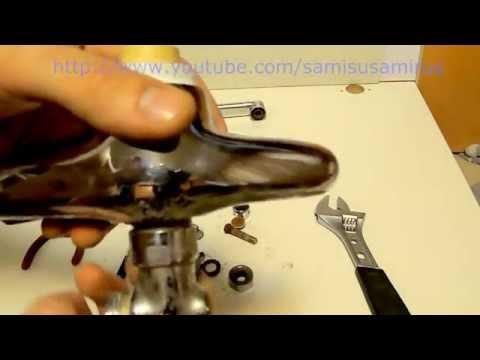 Ремонт смесителя своими руками, однорычажный смеситель