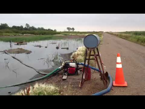 UNCOVERED: Oil spill video in Renville ND