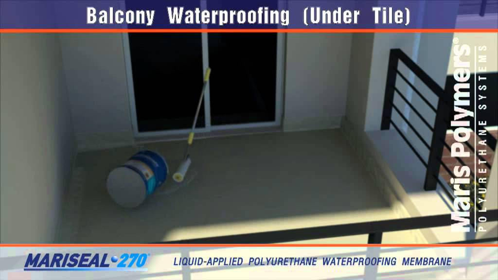Balcony Waterproofing Under Tile 270