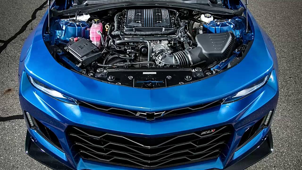 2017 Chevrolet Camaro Zl1 Supercharged 6 2 Liter Lt4 V 8