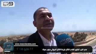 مصر العربية | مصر الخير: أكتوبر القادم افتتاح مزرعة الانتاج الحيواني بجنوب سيناء