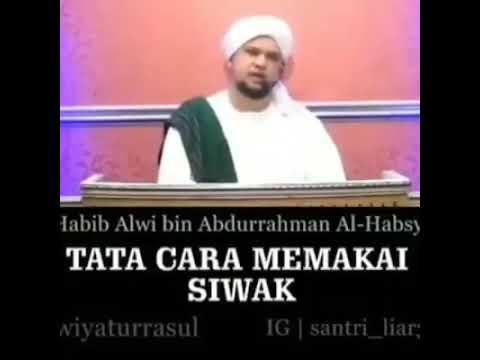 Tata Cara Memakai Siwak Sesuai Sunnah Nabi Muhammad Saw Youtube