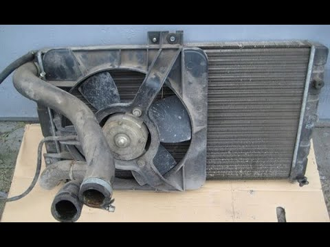 Замена радиатора (охлаждения) ВАЗ самара 2114,08,09,99,2115