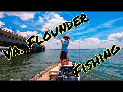 Flounder Fishing HRBT