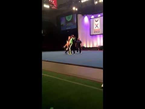ICU 2013 team Netherlands Partner Stunt
