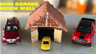 wow wow wow!!! How to Build a MINI GARAGE with MINI BRICK- D…
