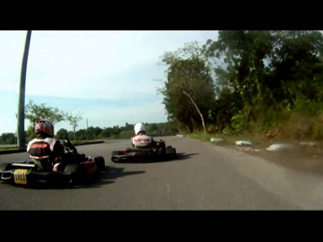 Freddy Lawan Rotax Max Celebrity Race Kuching Stadium Sarawak 17 Oct 2010 Part 1 Travel Video
