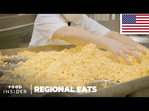 How Colby Cheese Is Made In Wisconsin | Regional Eats