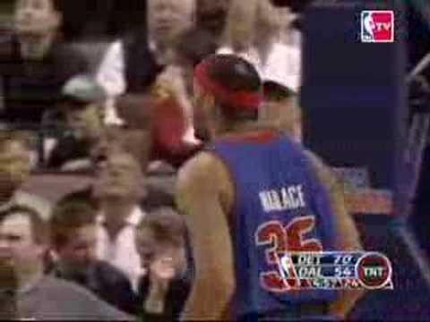 Pistons vs Mavericks 07/12/06