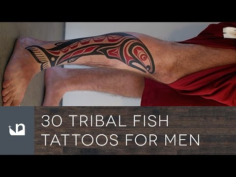 30 Tribal Fish Tattoos For Men