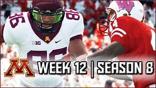 NCAA Football 14 Dynasty: Week 12 @ Wisconsin (Battle for Paul Bunyan