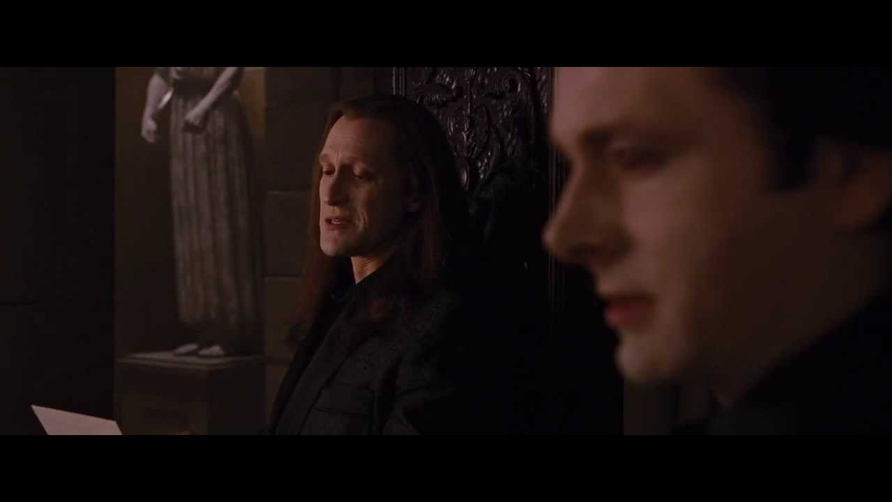 breaking dawn part 1 volturi recieves a letter from