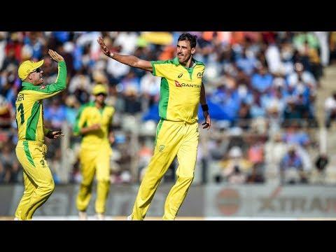 Cricbuzz LIVE: India V Australia, 1st ODI, Mid-innings Show