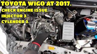 TOYOTA WIGO 2017 AT / CHECK ENGINE PROBLEMS.