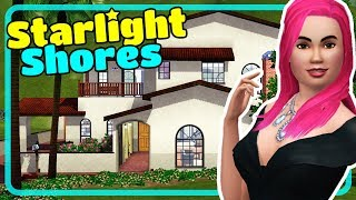 The Sims 3 Starlight Shores Town - House Tours from Showtime Expansion Pack EP Episode 2