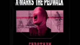 X Marks the Pedwalk - Cenotaph