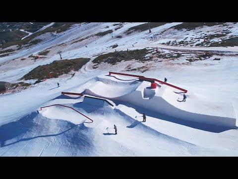DJI - FIS Freestyle Ski & Snowboard 世界選手権 2017