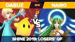 Dabuz Vs Nairo - Losers' Quarterfinals: Ultimate Singles Top 12 - Shine 2019