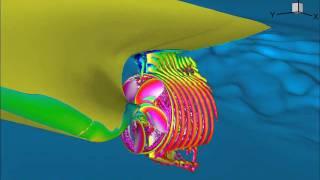 KCS with HSVA propeller in self-propulsion Top 10 Video