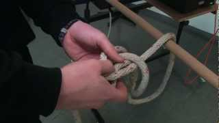 Feuerwehr-Ausbildungsvideo: Knoten und Stiche