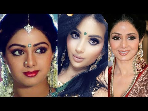 SRIDEVI INSPIRED BEAUTY TUTORIAL | Irenesarah