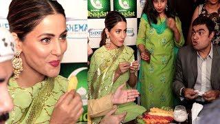 Hina Khan's Iftaar Party 2018 After Ramzan Roza Full Video HD