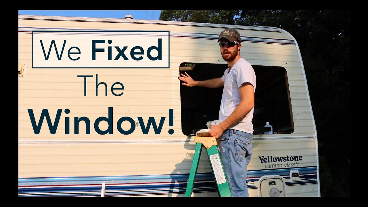 New Rv Window Seal Replacement Repair Youtube