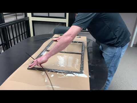 Sunspace Porch Window vinyl repair