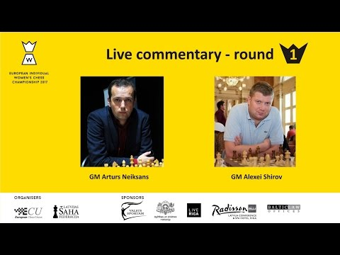 Round 1 - European Women's Chess Championship 2017